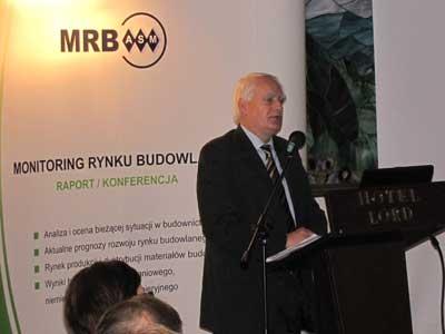 Minister Olgierd Dziekonski